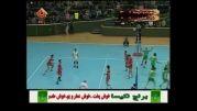 منتخب دیدار والیبال شهرداری اورمیه - نوین کشاورز