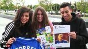 استقبال هواداران از فرناندو تورس در شهر مادرید