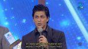جایزه گرفتن شاهرخ خان برای فیلم جاب تک هی جان در جشنواره زی تی وی