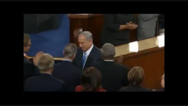 نکته ای جالب در سخنرانی نتانیاهو برای دوستانش در کنگره