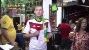 توهین یک پیرمرد برزیلی به خبرنگار آلمانی