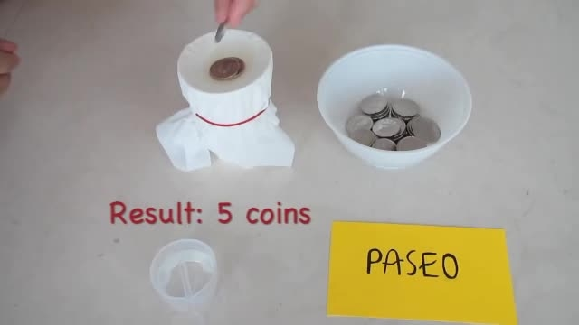 ازمایشی با 3 مدل دستمال کاغذی