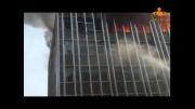 لحظه  وحشتناک سقوط یک زن از ساختمان 5 طبقه (18+)!!!