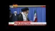 واکنش شبکه بی بی سی به حضور مقام معظم رهبری در پای صندوق رای