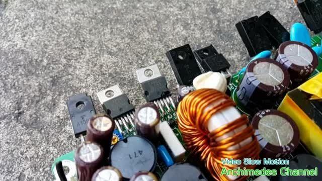 چگونه قطعات الکترونیکی می سوزند؟