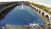 تصویربرداری هوایی اصفهان(کلیپ15) هفته نکوداشت اصفهان