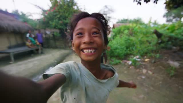 سلفی گرفتن برای اولین بار در نپال
