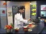 املت ژامبون با سبزیجات