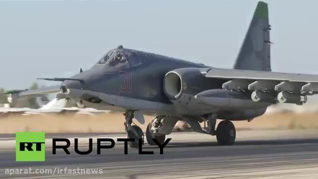 آماده سازی هواپیمای روسی برای جنگ با داعش