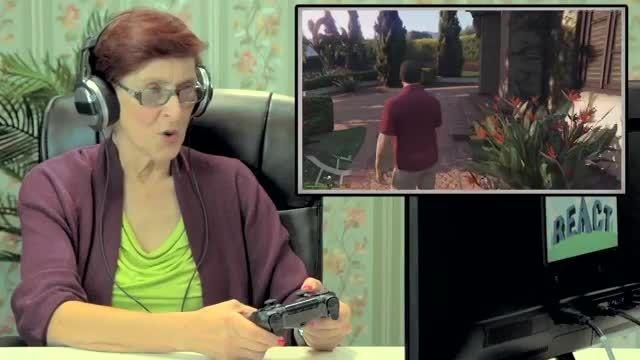 واکنش افراد مسن به GTA V