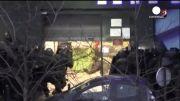 تصاویر درگیری احمدی کولیبالی با نیروهای ویژه فرانسه