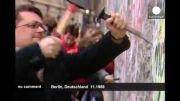 فیلم های منتشر نشده از فروریختن دیوار برلین