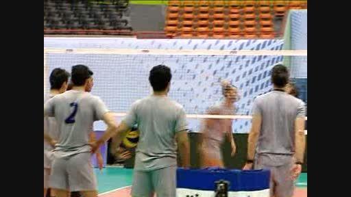 گزارشی از دیدار والیبال ایران و لهستان