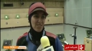 نتایج نمایندگان ایران در روز سوم