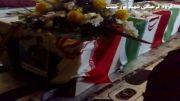 انتقال پیکر خلبان شهید مرتضی پورحبیب از دزفول به بهشهر