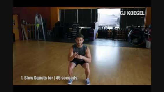 عضله سازی پاها در سریع ترین زمان