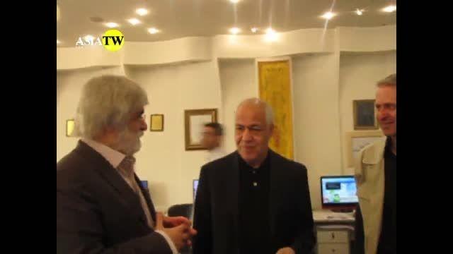 دیدار یک ساعته دکتر حسین اسفهبدی با ایرج جمشیدی