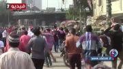 جنگ خیابانی در قاهره در روز محاکمه مرسی