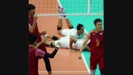 گزارش تصویری بازی ایران-چین