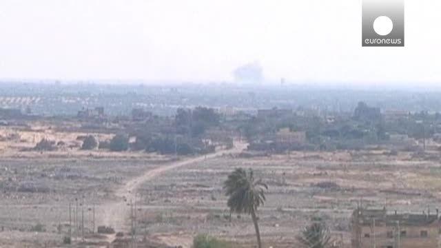 حمله های به اماکن نظامی در چند منطقه صحرای سینا