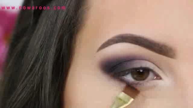 انجمن های نوعروس : آموزش گام به گام آرایش چشم
