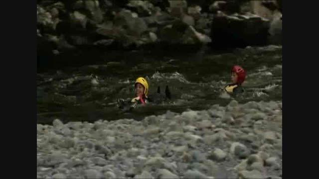 شناور شدن بر روی آب رودخانه (روش وایت واتر)
