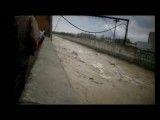 ورود سیلاب به متروی تهران