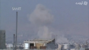 حمله به مواضع تروریست های جوبر با موشک زمین به زمین