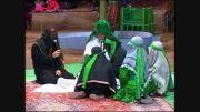 تعزیه حضرت زهرا-لحظات شهادت حضرت زهرا-محرم93