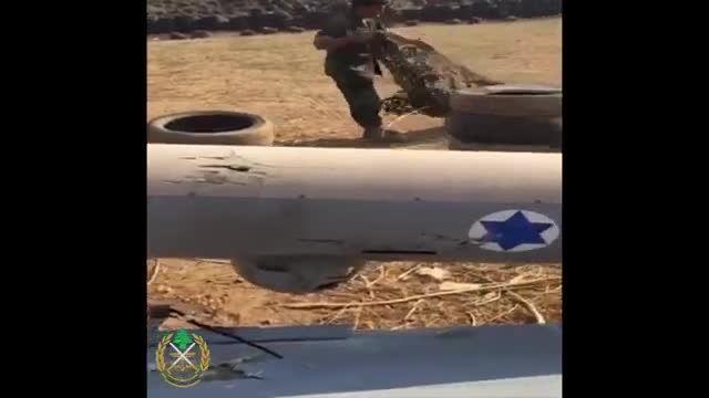 زدن پهپاد جاسوسی رژیم صهیونیستی توسط حزب الله