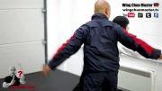 آموزش دفاع دفاع شخصی با تکنیک های وینگ چون از مستر وونگ