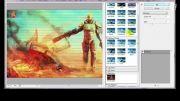 آموزش جلوه دادن به تصاویر در فوتوشاپ