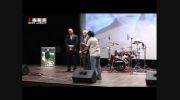 اهدای تندیس ناصر حجازی به زنده یاد غلامحسین مظلومی