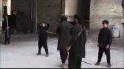 اموزش زرمی داعشی ها به بچهای نوجوان وهابی