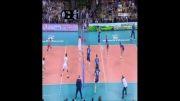 خلاصه ست چهارم والیبال ایران و ایتالیا (بازی رفت - لیگ جهانی)