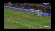 بارسلونا0-2میلان   بارسا با مسی در San siro شکست خورد