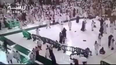 تصاویر منتشر نشده از سقوط جرثقیل در مسجدالحرام