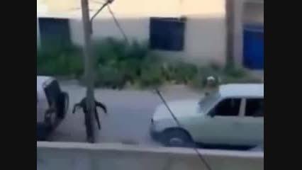 برخورد اراذل داعش با زنان و دختران - 1