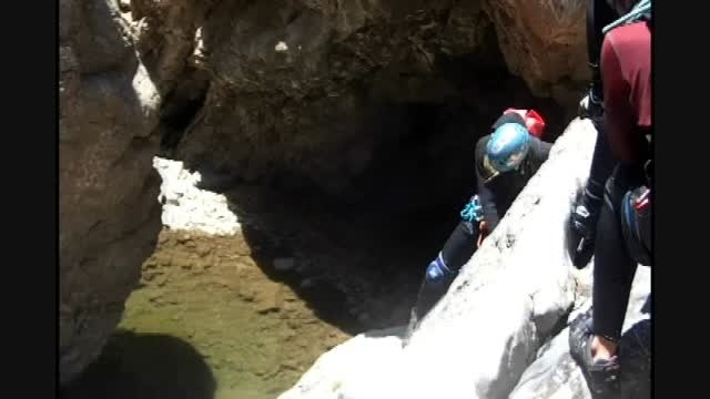دره نوردی - دره اشکاک - قزوین - خردادماه 1394 -قسمت اول