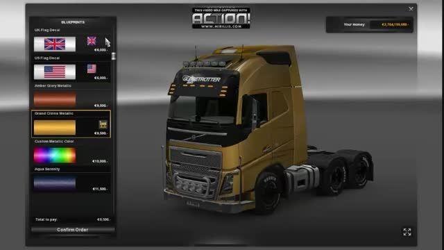 بازی Euro Truck Simulator 2 Scandinavia برای PC