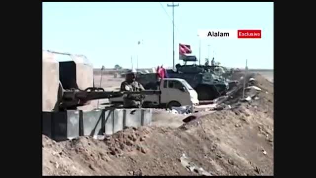 گفتگو با وزیرکشور عراق در خط مقدم صلاح الدین + فیلم