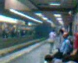 در متروی تهران