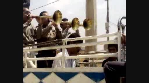 ساز و ناقاره سه نفری در مهارلو شیراز