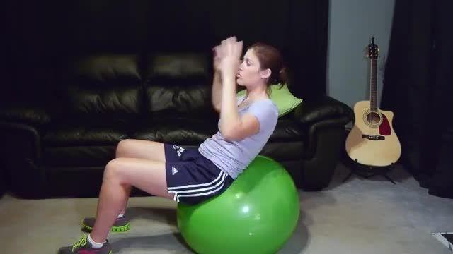تمرینات تقویت عضلات مرکزی بدن ( متوسط )
