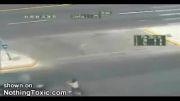 تصادف مرگبار ماشین با موتور در اتوبان