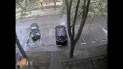 تلاش بی نتیجه برای پارک کردن!