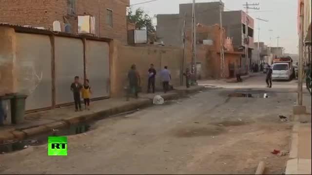 ترس و وحشت مردم رمادی از سقوط شهر به دست داعش