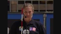صحنه خواستگاری بامزه داور دوم از داور اول والیبال ساحلی