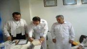 مراسم پیمان راهنمایی نمایندگی صالحی در روز افتتاحیه این نمایندگی