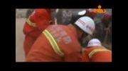 نجات بچه ۴ ساله از چاه ۱۷ متری فجر